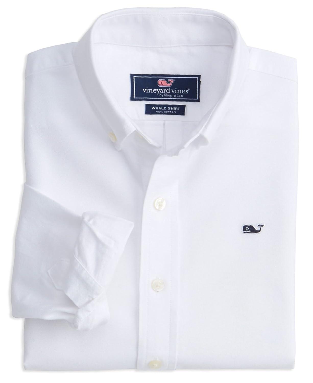 c3a206583 Vineyard Vines Men s Slim Fit Whale Shirt Button Down Dress Shirt - White  -  Amazon.co.uk  Clothing