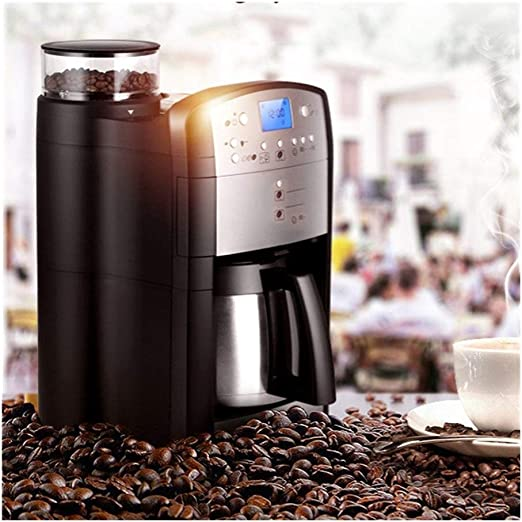 ZXIAQI Automática de café, moler y automática Cafetera con Digital ...