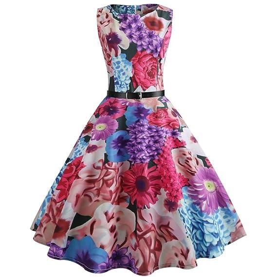 Vectry Kleider Damen Kleid Brautjungfernkleid Petticoat