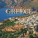 Greece 7 x 7 Mini Wall Calendar 2019: 16 Month Calendar