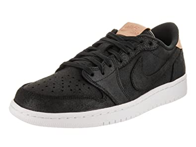 835db5c990a1da Image Unavailable. Image not available for. Color  Jordan Nike Men s Air 1  Retro Low OG Premier Basketball Shoes 10 Black