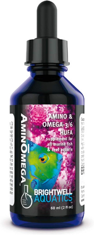 Brightwell Aquatics AminOmega - Amino Acid and Omega Food Supplement for All Marine Fish and Reef Aquariums