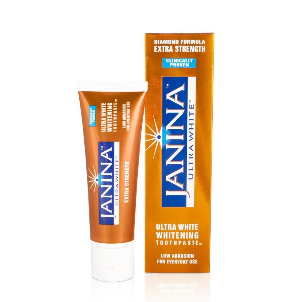 Janina - Pasta de dientes blanqueantes extra fuerte 75ml
