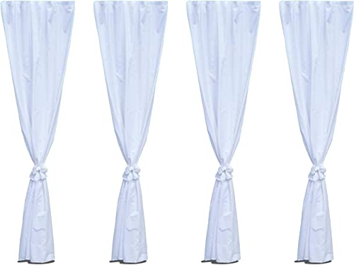 Canopy Leg Drape Accessories – 8 Foot. Canopy Not Included.