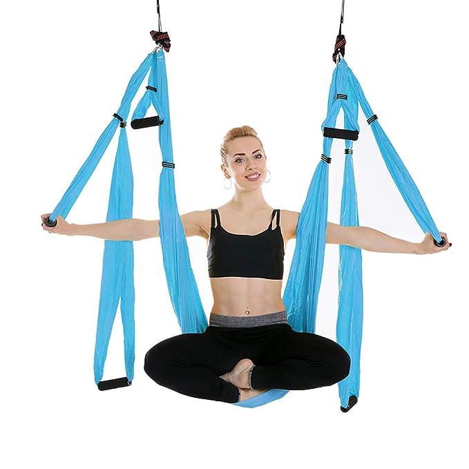 RXRENXIA Yoga Trapecio-Yoga Swing/Sling/Herramienta de ...