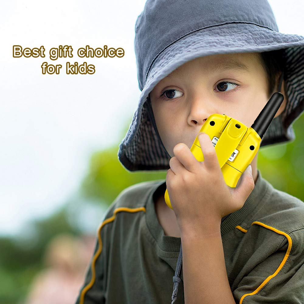 Dreamingbox Outside Toys for 3-9 Year Old Kids, Long Range Walkie Talkies for Kids Birthday Presents Gifts for 3-12 Year Old Girls Boys Hunting Toys for 3-12 Year Old Boys Yellow TGUSSDDJ03 by Dreamingbox (Image #6)