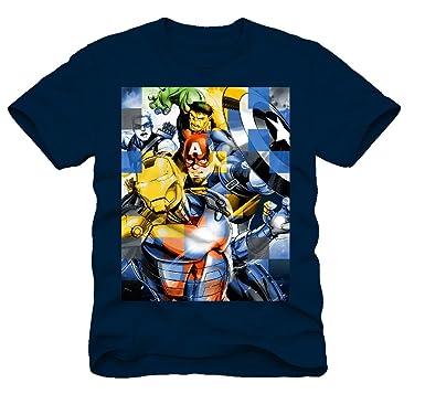 342dcd1481 Amazon.com  Superhero Marvel T- Shirts for Boys  Clothing
