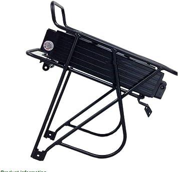 E-Bike - Batería para portaequipajes de Bicicleta eléctrica (36 V ...