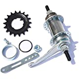 Steel Brake Rear Hub Stainless Fit For Fixed Gear Bicycle Coaster 36 Holes