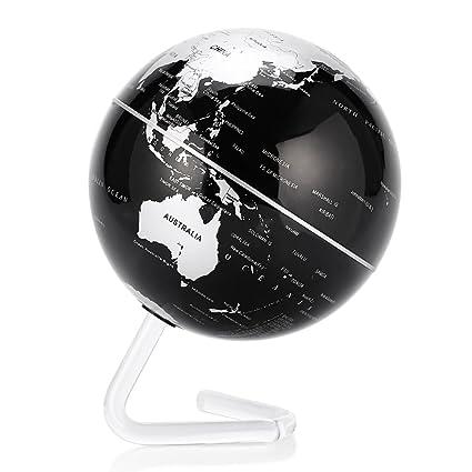 amazon com self rotating globe 4 auto spinning rotary globe