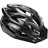 Kyпить Zacro Lightweight Cycle Helmet Adjustable Thrasher for Adult with Detachable Liner with Water and Dust Resistant Cover, Black на Amazon.com