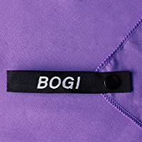 BOGI Microfiber Travel Sports Towel-(Size: S M L XL)-Antibacterial Dry Fast Soft Lightweight Absorbent&Ultra Compact-Perfect for Camping Gym Beach Bath Yoga Backpacking Fitness +Gift Bag&Carabiner by BOGI