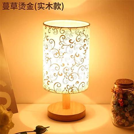 Lámpara de mesa pequeña lámpara de mesa de atenuación de ...