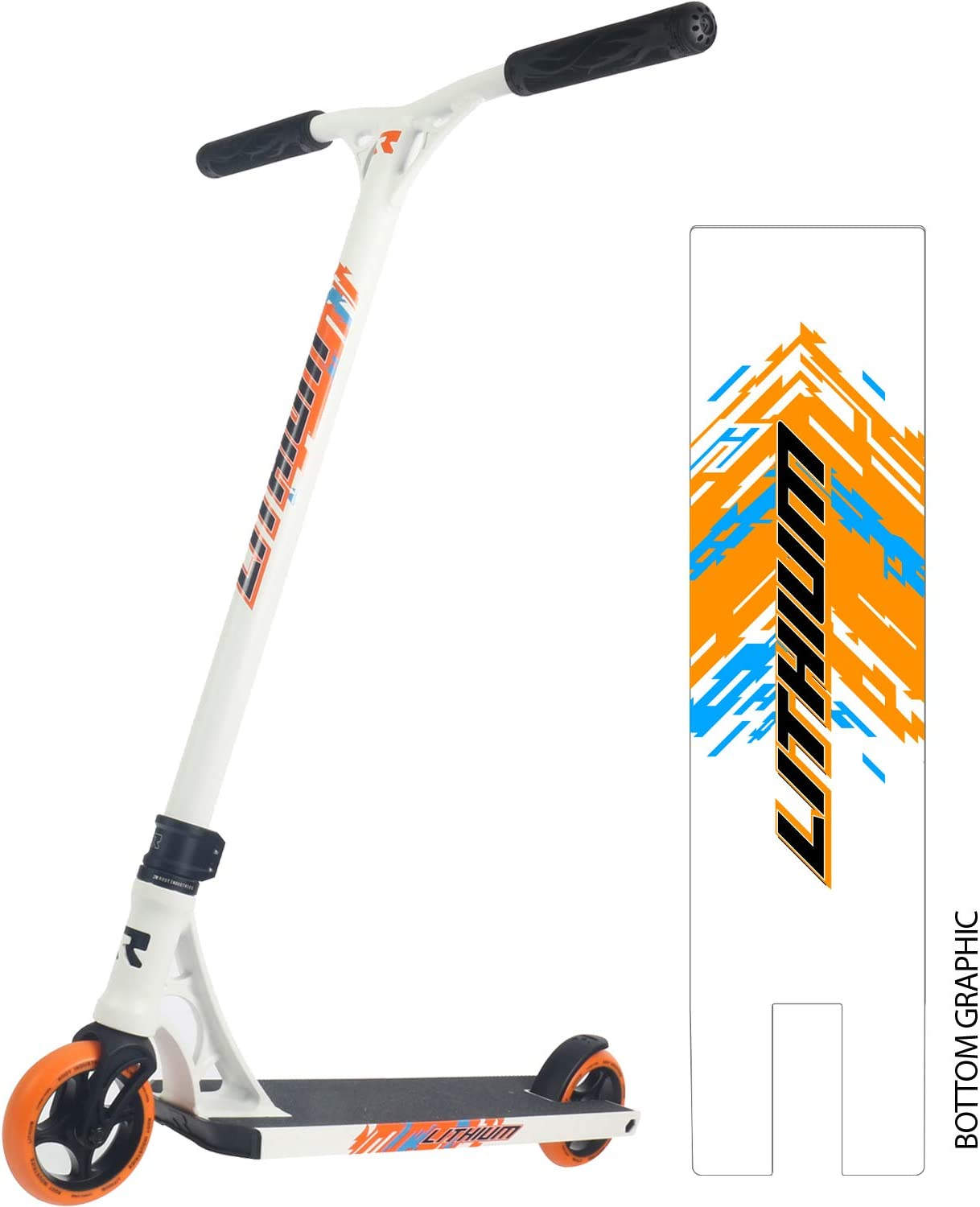 Stunt Scooters Pro Scooter Deck Pro Scooters for Kids Pro Scooters for Adults Ready to Ride Trick Scooter Lithium Complete Scooter Professional Scooter for any Age Rider Pro Scooter Wheels