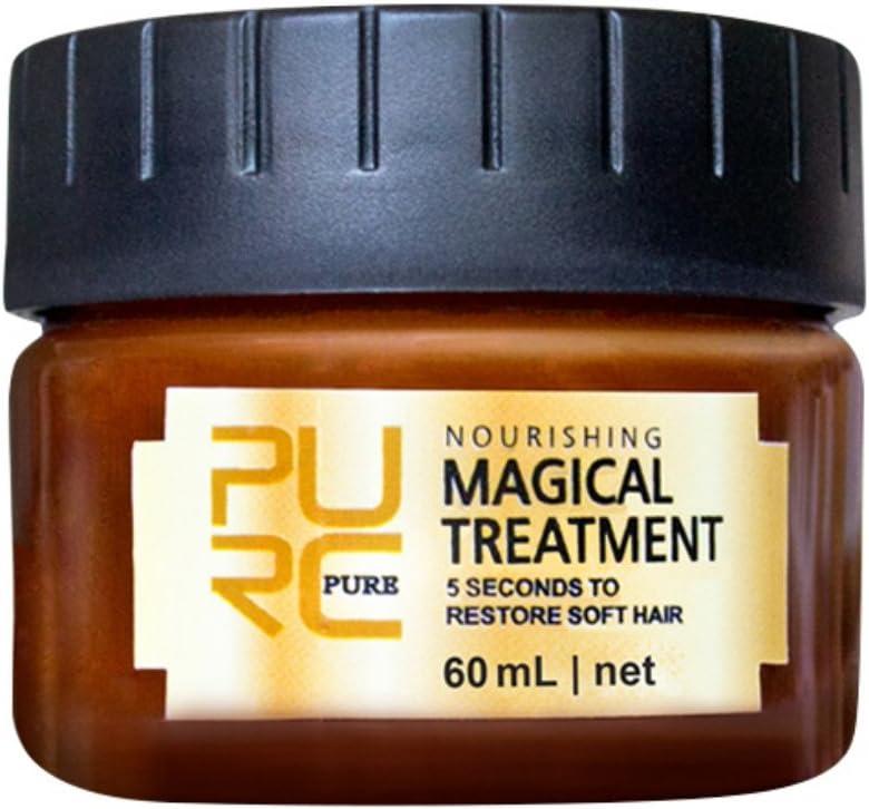 ROMANTIC BEAR Magic Hair Treatment Masks Deep, Restore the Damage Hair and Skin,Nutrition Moisturizer Compliant Hair Conditioner 60 ml