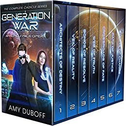 Generation War - Complete Cadicle Series Boxset: An Epic Science-Fantasy Space Opera by [DuBoff, Amy]
