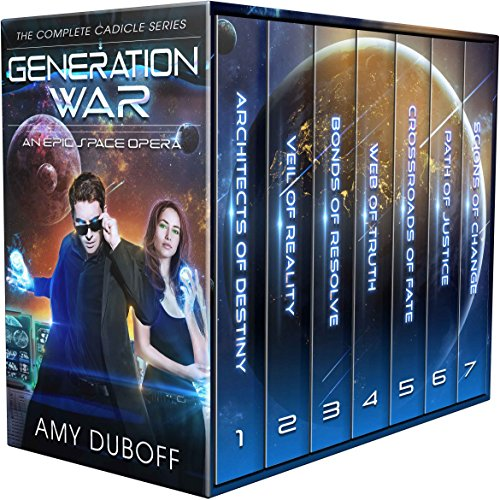 Generation War - Complete Cadicle Series Boxset: An Epic Science-Fantasy Space Opera cover