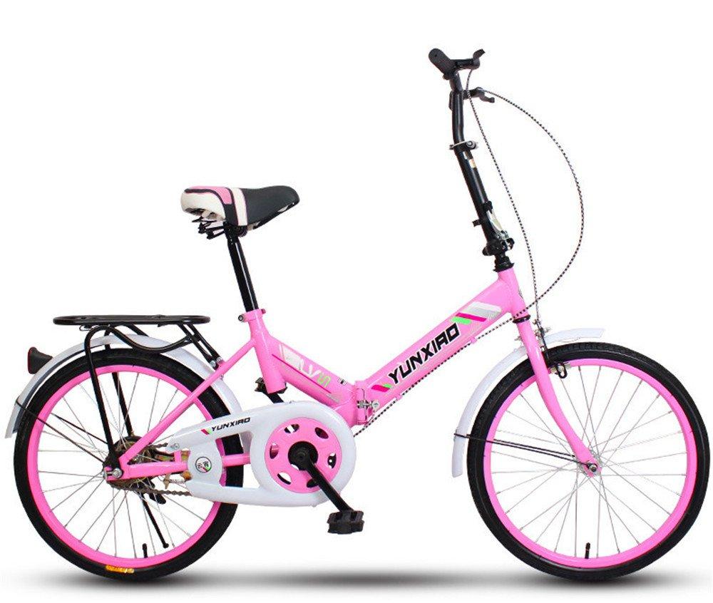 折りたたみ自転車 折り畳み 16インチ 20インチ 変速自転車 単速  変速 通勤 通学 小型 小径 簡単収納 B07BTWGMY4 20インチ単速|G G 20インチ単速