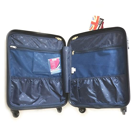 Amazon.com: Abs suitcase Pepe Jeansmarine (london)55 cm (0.00).: Clothing
