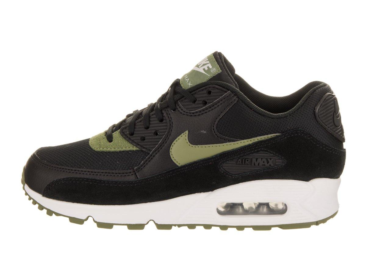 NIKE Womens Air Max 90 Black/Palm Green/White Running Shoe 10 Women US