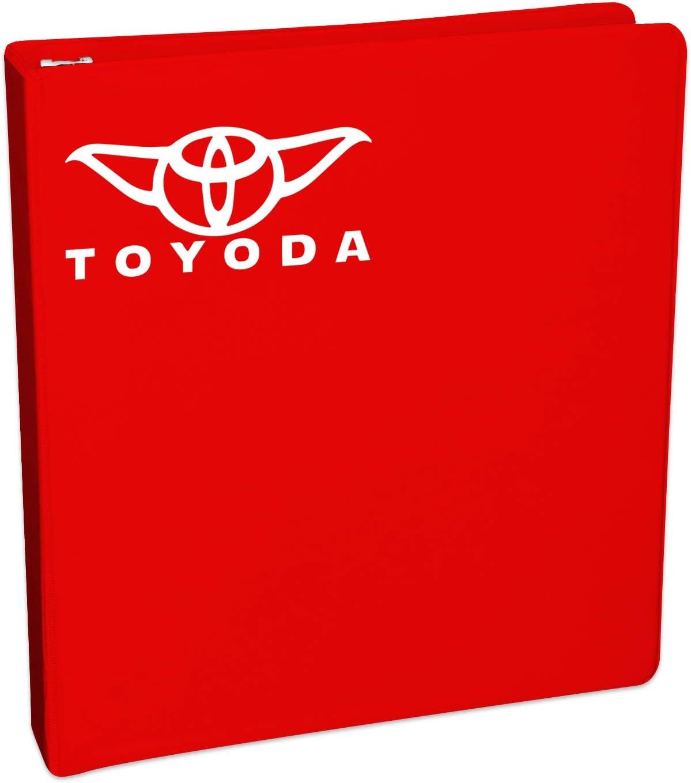 White Bargain Max Decals Toyoda Yoda Sticker Decal Notebook Car Laptop 8