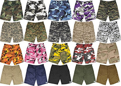 Army Universe Mens Military Cargo BDU Shorts Tactical 6 Pocket Army Uniform  Work Shorts with Pin 8e2080968