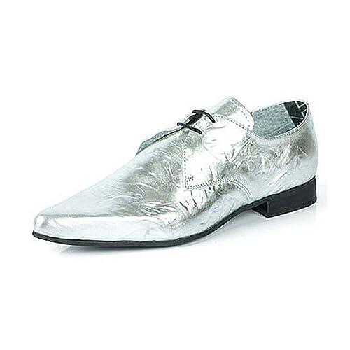 Para PlataColor Plata Zapatos Hombre De Underground Cordones wXlZuPkiTO