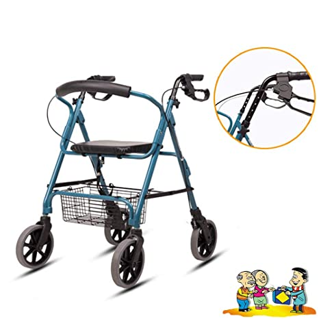 Andador para Personas Mayores Plegable 3 En 1 Old Man Push ...
