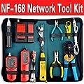 Nf-168set & 468b Rj45 Rj11 Bnc Usb Lan Network Tool Kit Cable Tester Crimp Crimper Plug Pliers
