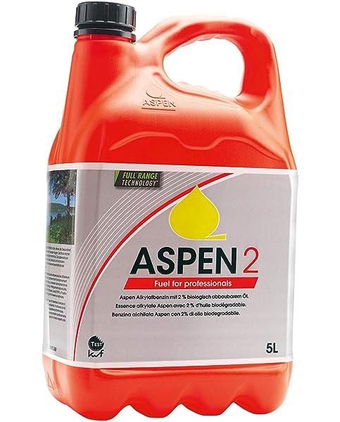 HUSQVARNA Aspen 5 Litro - Mezcla 2 stroke COMBUSTIBLE PARA ...