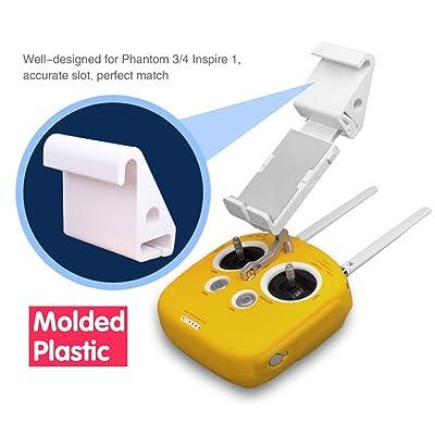 Flycoo Tablette Téléphone portable Support Prolongée Extension Part pour DJI Phantom 4 Pro / 3 / Inspire 1 Télécommande - 23CM Maximum