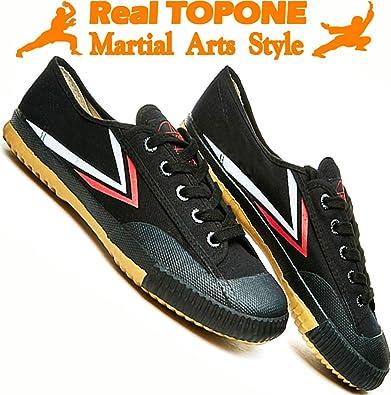 BJSFXDKJYXGS Chinese Wushu Shoes taolu Kungfu Martial Shoes Taichi Shoes for Men Women Fashion Sneakers
