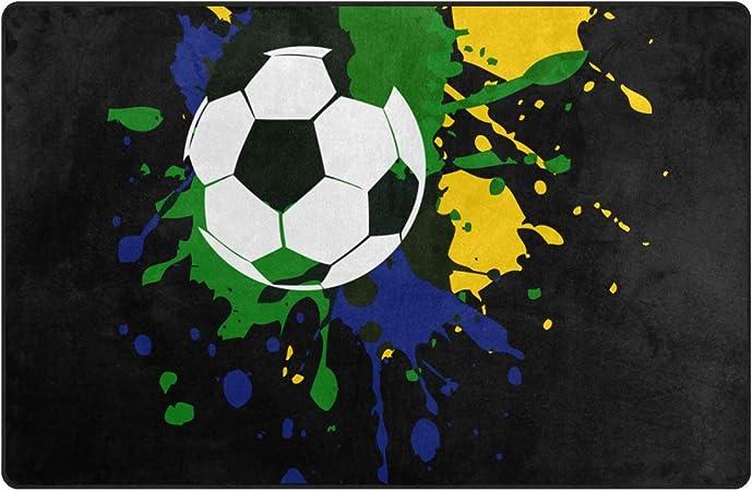 FAJRO: Alfombrillas para el Suelo de Tinta de futbolín de ...