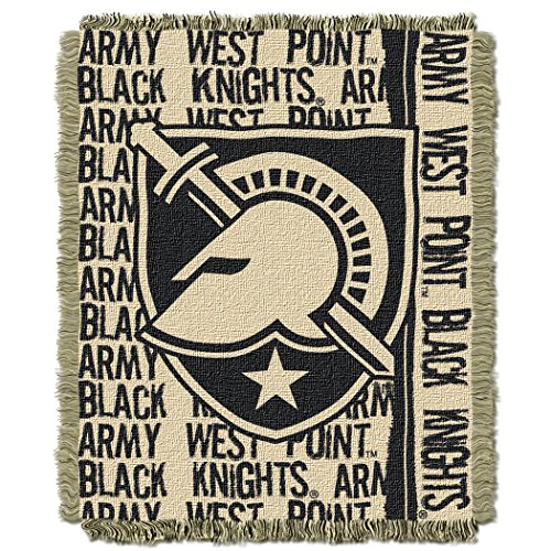 NCAA Army Black Knights Double Play Jacquard Throw, 48