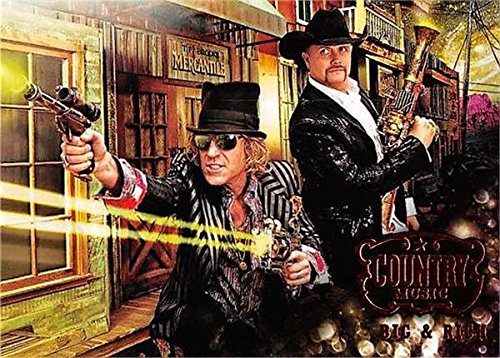 Rich Duo (Big & Rich trading card (Country Music Duo) 2014 Panini #78)