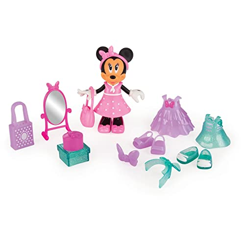 IMC Toys - Minnie Fashionista Shopping - Fig 15 cm - 182196 - Disney