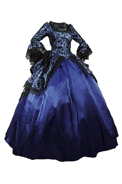 Amazon.com: Disfraz gótico victoriano de 18 siglos, vestidos ...