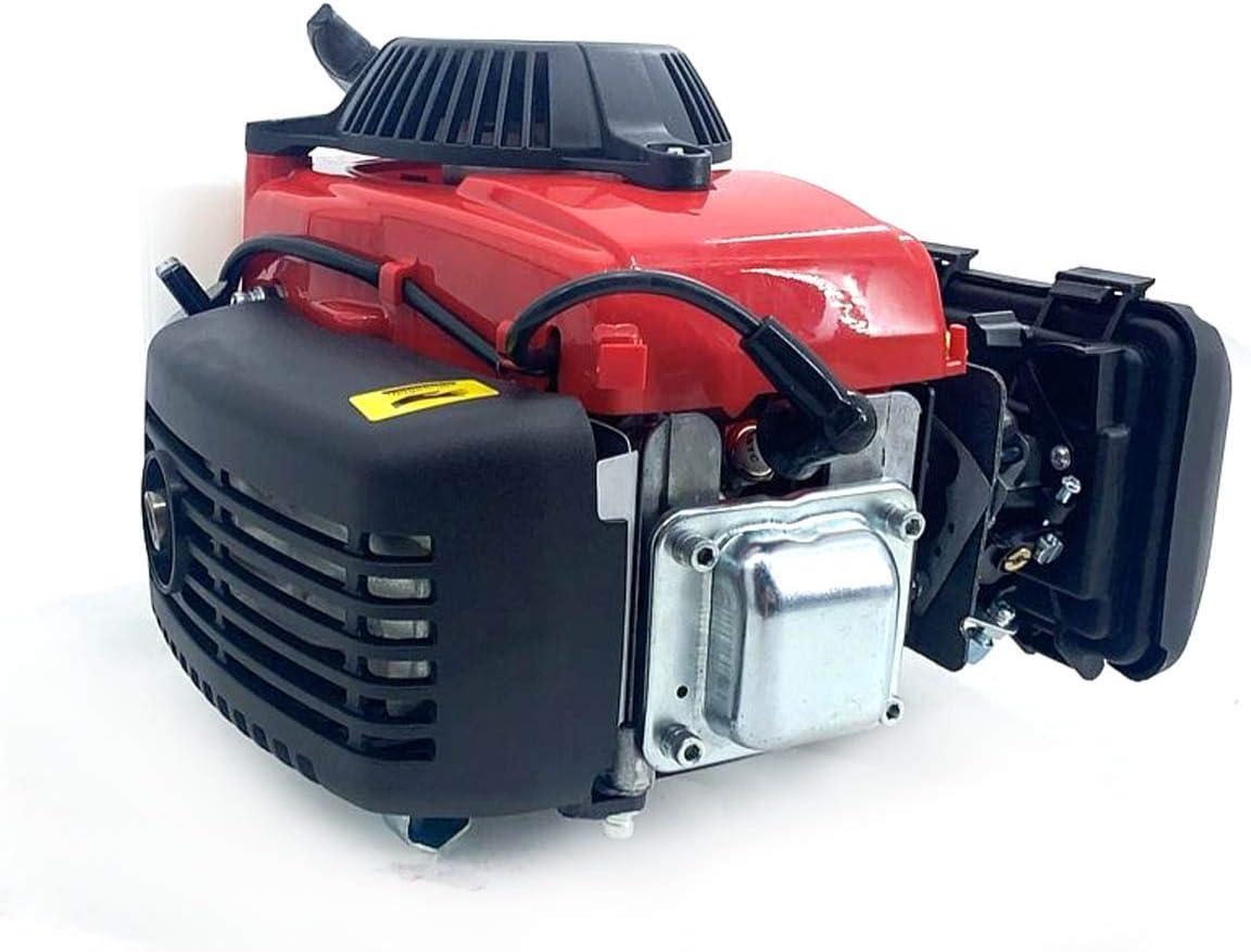 Cozyel Motore fuoribordo 2 Tempi//4 Tempi Motore Elettrico con Sistema di Raffreddamento 2.5HP 2.8HP 3.0HP 4.0HP Motore per Barche fuoribordo con Sistema di Raffreddamento ad Aria