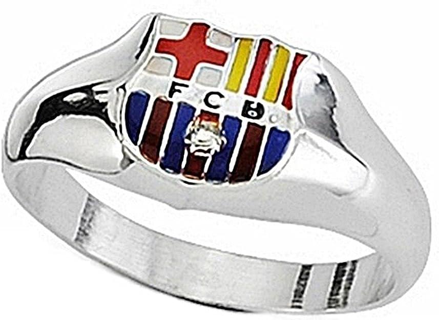 Sello escudo F.C. Barcelona Plata de ley esmaltado cadete [6939] - Modelo: 10-091: Amazon.es: Joyería