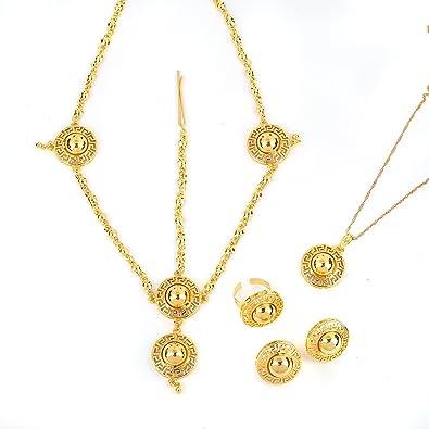 African Ethiopian Eritrean Habesha Jewellery Sets Ethiopian