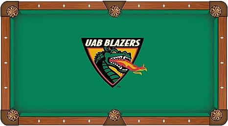 UAB Blazers HBS verde con dragón Logo billar mesa de billar paño ...