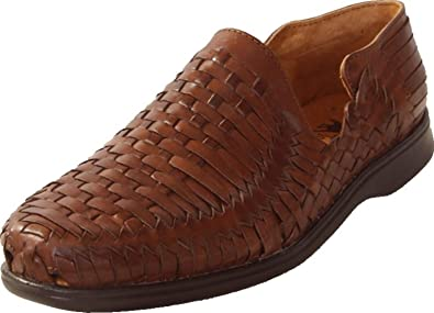 f82d42f67b9a El Presidente Men s Mexican Huarache Sandals - Brown (US ...