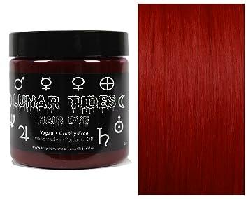 Amazon Com Lunar Tides Hair Dye Blood Moon Dark Red Semi