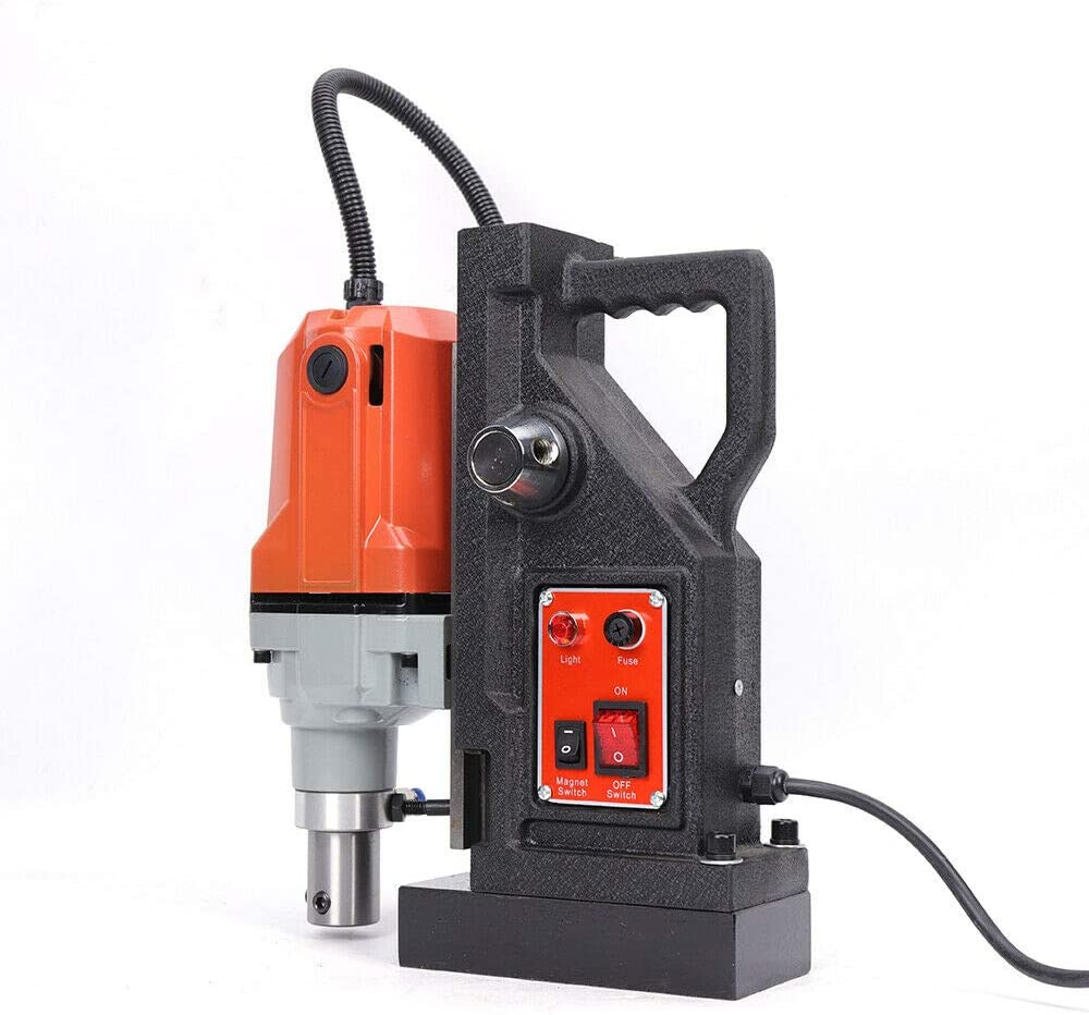 Power Magnetic Drill Presses High Speed 50mm Boring Depth for Bridge Engineering Steel Structure Wind Power 1100W 110V
