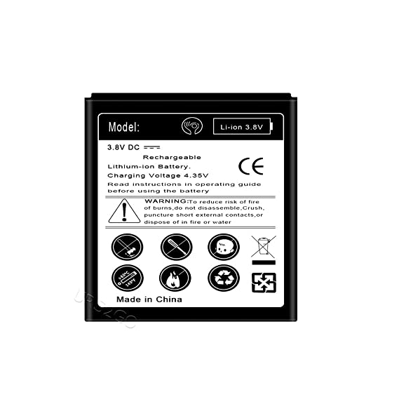 Amazon com: High Performance 2300mAh Replacement Extended
