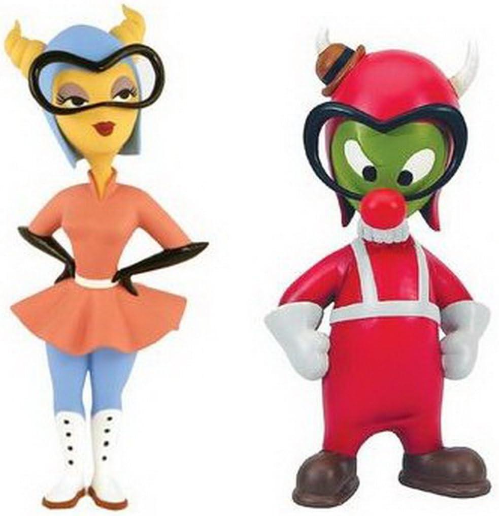 Disneys Gremlin Gus & Fifinella Vinyl Figure Set: Amazon.es ...