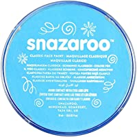 Snazaroo Face Paint 18 ml color individual, Turquoise, M, 1