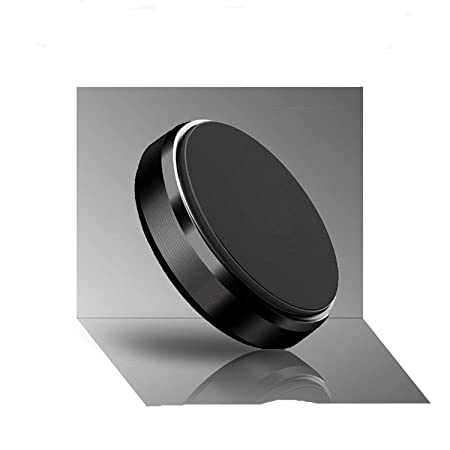 King Shine Aluminium Alloy Metal Body Mini Mount Magnetic Car Phone Holder for iPhone X/8/8Plus,7/6/6s Plus, Samsung S9/S9+,S7/S6 and more phones