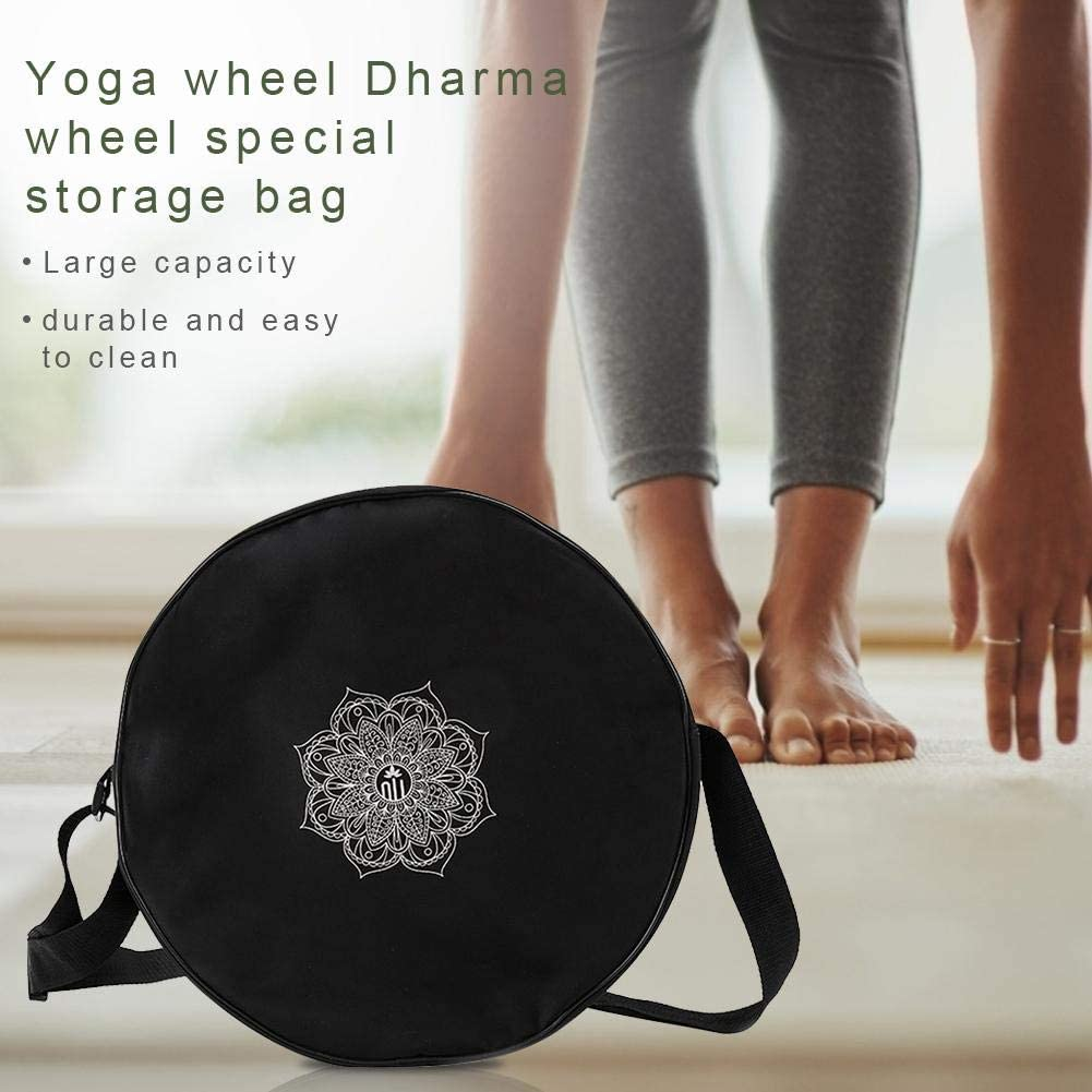 Sac de Rangement sp/écial pour Sac /à bandouli/ère Sac de Sport Yoga Wheel Wheel Dharma