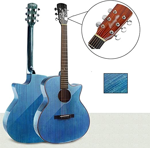 Guitarra Acústica Clásico Cuerda De Acero 40